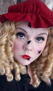 easy diy halloween costumes creepy doll makeup tutorial youtube broken doll face make up kit doll face costumes and halloween