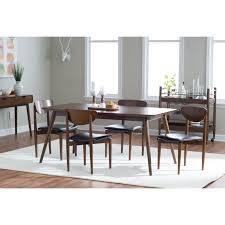Kitchen Dining Furniture by Belham Living Carter Mid Century Modern Dining Chair Set Of 2