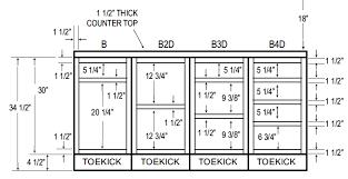 Average Depth Of Kitchen Cabinets Base Kitchen Cabinet Depth Nrtradiant Com