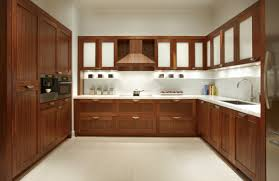 Custom Painted Kitchen Cabinets Decorations Kitchen Captivating Natural Wooden Finished Kitchen U