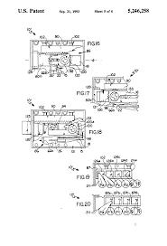 patent us5246258 rim type door lock with interchangeable bolt