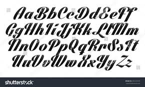 3d poster bold classic style font stock illustration 249134155