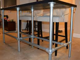 100 Diy Pipe Desk Plans Pipe Table Ideas And Inspiration by Diy Counter Height Table With Pipe Legs Pipe Furniture