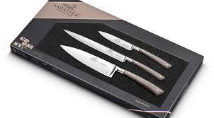 coffret de couteaux de cuisine coffret 3 couteaux de cuisine edonist jaspe sabatier