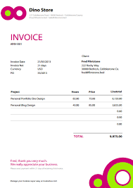 free sample invoice invoice design template google search invoice template