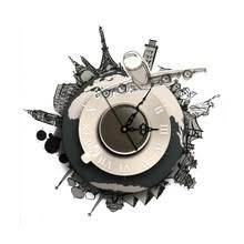 Wall Clock For Living Room by Popular Clock Wall Decal Buy Cheap Clock Wall Decal Lots From