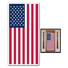 usa flag door cover banner patriotic