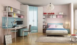Contemporary Blue Bedroom - op16 kid05 contemporary bedroom in blue for 10 years u0027 old child