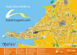Venice Beach Map Trapani Tourist Map