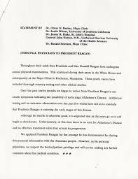 Nancy Reagan Signature Lot Detail Ronald Reagan Signed Copy Of His 1994 Handwritten