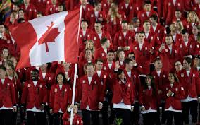 How Many Stars In Brazil Flag In Photos Team Canada At The Rio 2016 Opening Ceremony Team