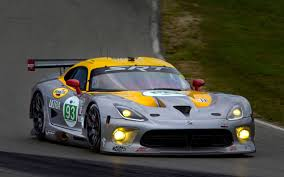 dodge viper race car srt viper to race at 24 hours of le mans