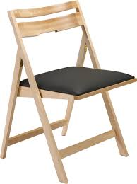 Pepper Chair Scoop Up Wood Folding Chair With Upholstered Seat Peter Pepper