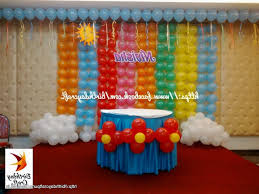 How To Make Birthday Decorations At Home Idea For Birthday Party At Home Acuitor Com