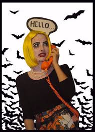 Pop Art Costume Halloween 148 Comic Book Makeup Images Comic Book Makeup
