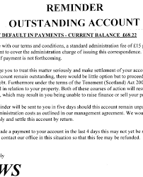 legal demand letter template replacing your factor free legal help from govan law centre example demand letter from scottish property management company