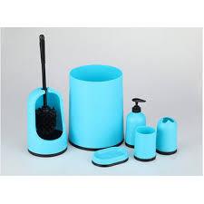 European Plastic Bathroom Set Pcs Design Brief And Practical - White plastic bathroom accessories