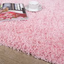 soft fluffy baby pink shaggy rug vancouver kukoon
