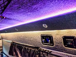 led ceiling strip lights lighting u2013 sprinter adventure van