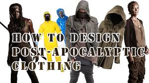 tips how to design a post apocalyptic costume youtube