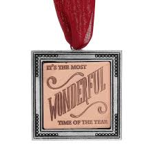 it s the most wonderful time of the year ornament wendell august