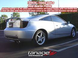 toyota celica exhaust toyota celica exhaust systems at andy s auto sport