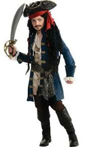 Halloween Jack Sparrow Costume Kid U0027s Captain Jack Sparrow Costume Parts