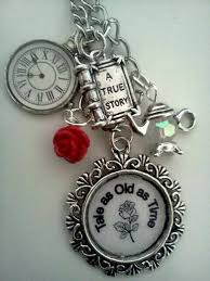 Custom Lockets Tale As Old As Time Beauty And The Beast Necklace Characterise