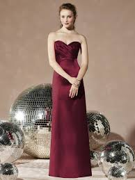 long burgundy bridesmaid dresses gown and dress gallery