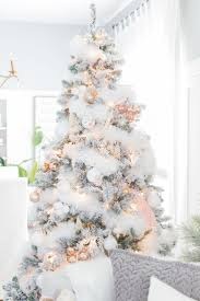 the 25 best flocked trees ideas on white
