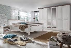 Landhausk He Schlafzimmer Landhausstil Weiß Lugano Kiefer Teilmassiv P03