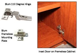 How To Hinge A Cabinet Door Blum 110 Degree Hinge For Inset Doors Frameless Cabinets