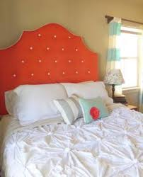 white tufted headboard crystal glass rhinestone buttons house