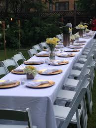 backyard birthday dinner party u2013 a u0027vents by august