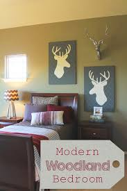 the ragged wren modern woodland bedroom