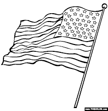 us flag coloring page amazing american flag outline gallery coloring 8773 unknown