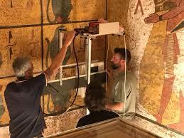 chambre secr鑼e pas de chambre secrète dans le tombeau de toutankhamon