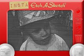 pimp your pictures with the insta etch a sketch app wired