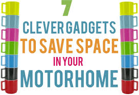 7 clever gadgets to save space in your motorhome campingly