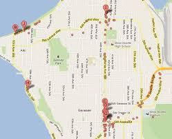 seattle map restaurants restaurants etc west seattle