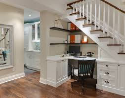office stairs design basement desk under the stairs traditional home office