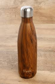s u0027well teakwood 17 oz water bottle south moon under