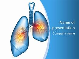powerpoint design lungs pain physiology lung powerpoint template id 0000089227