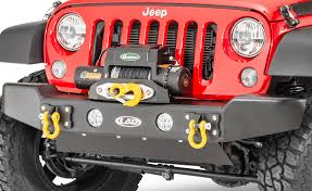 armored jeep wrangler unlimited lod jka1011 armor lite winch fairlead mount for 07 17 jeep