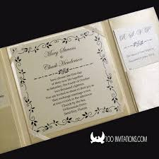 wedding invitations box lace wedding invitations free shipping