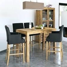 tables hautes de cuisine chaise pour table haute chaise haute pour table cuisine chaise