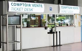 Ticket Desk Practical Services Aéroport Paris Beauvais