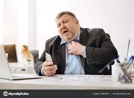 employé de bureau employé de bureau stresse avant échéance photographie yacobchuk1