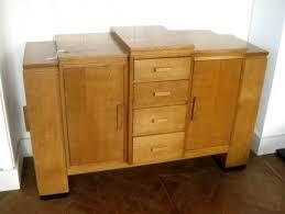 art deco sideboard u2014 pigeon vintage furniture