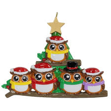 family personalized christmas ornaments family personalized